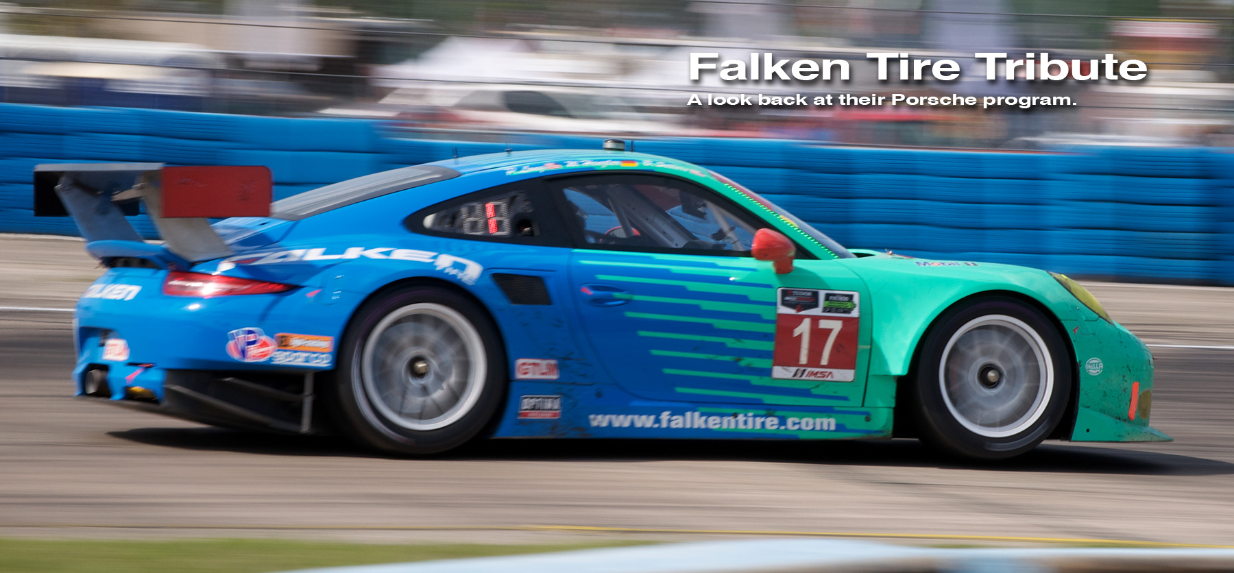 Header image for the Falken Tire tribute gallery.