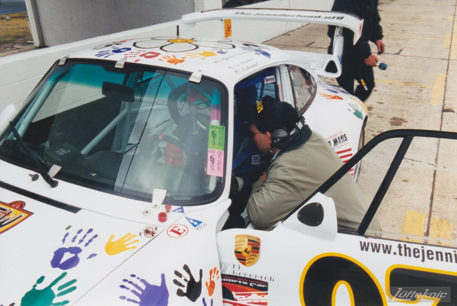 G&W Motorsports Porsche 911 Road Atlanta 1999