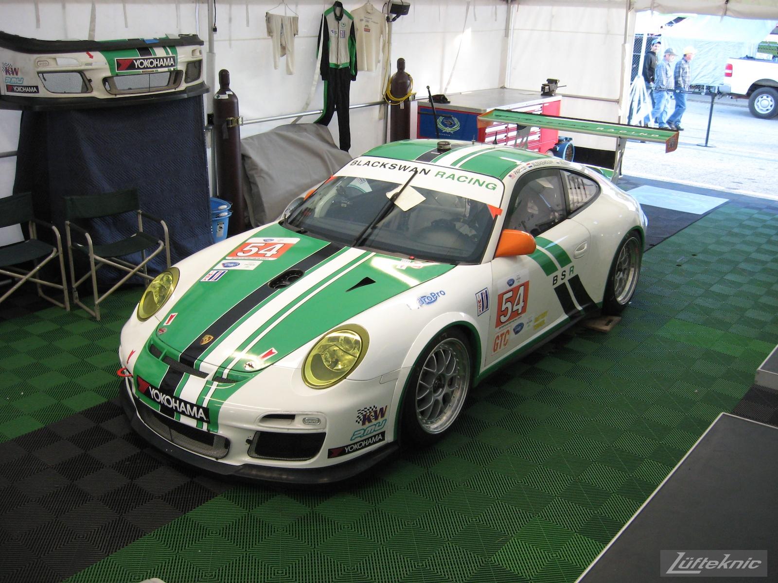 Black Swan Racing GT3 Cup Petit Le Mans 2011