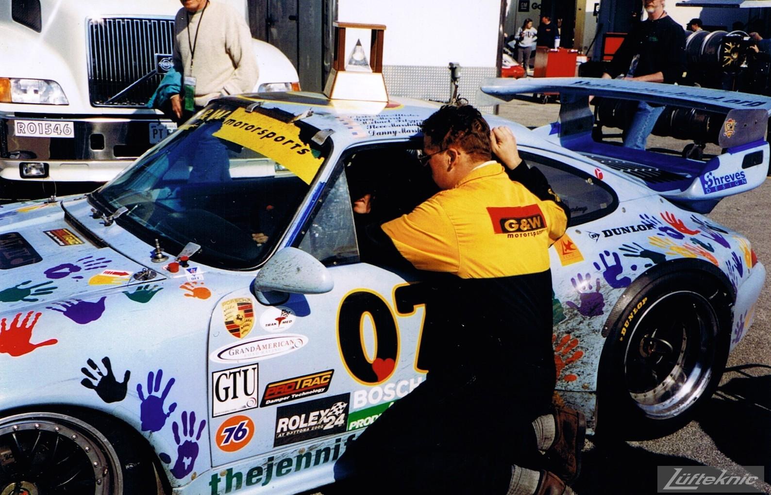 G&W Motorsports Porsche 911 Daytona 2000