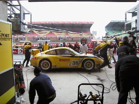 PK Sport Porsche Le Mans 2003