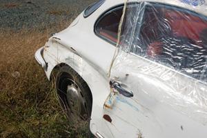 Damaged 1964 Porsche 356SC