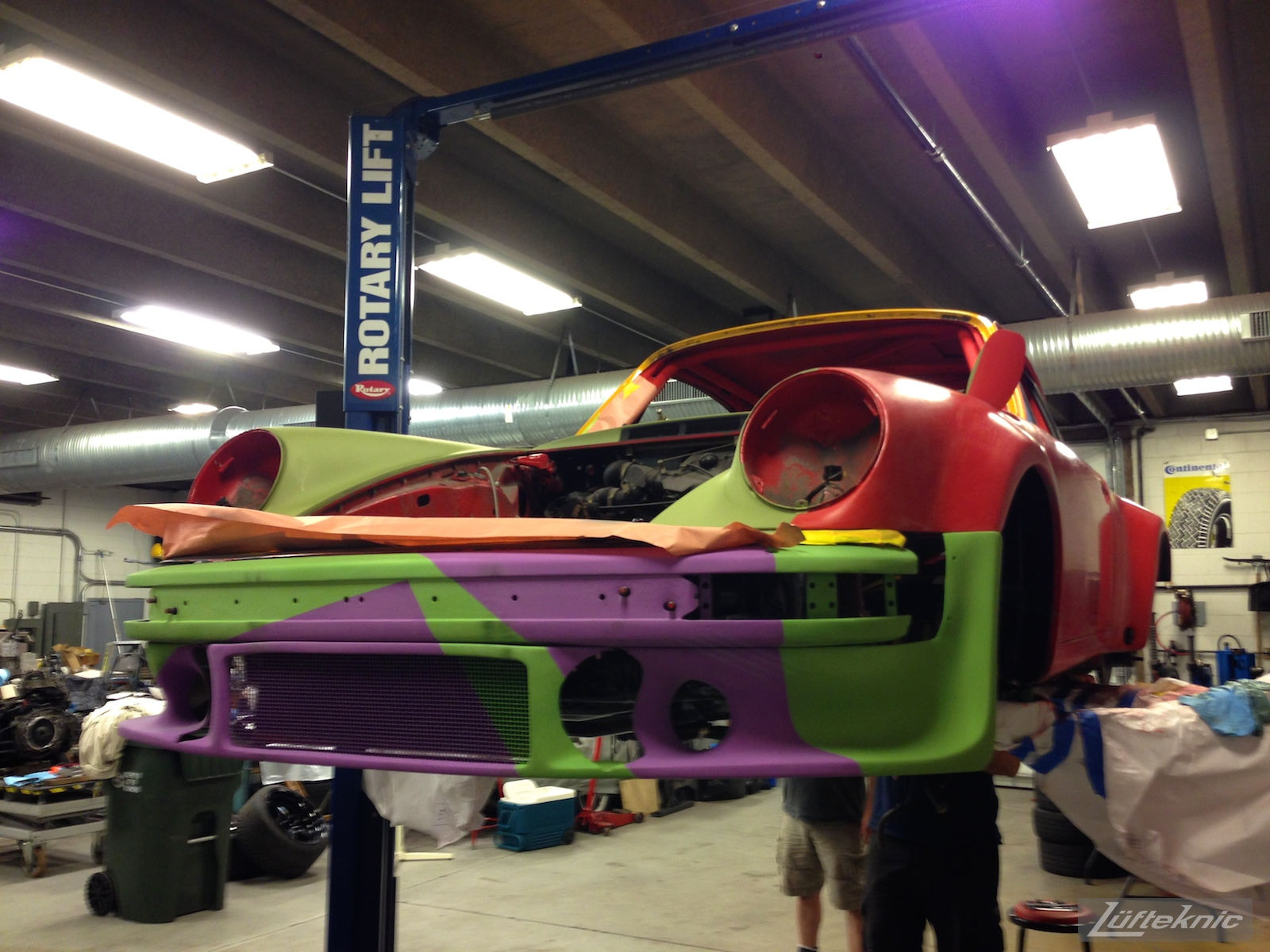 Lüfteknic #projectstuka Porsche 930 Turbo bumper trial fitment