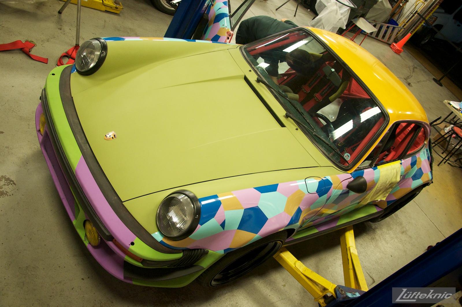A first glimpse of a complete Lüfteknic #projectstuka Porsche 930 Turbo