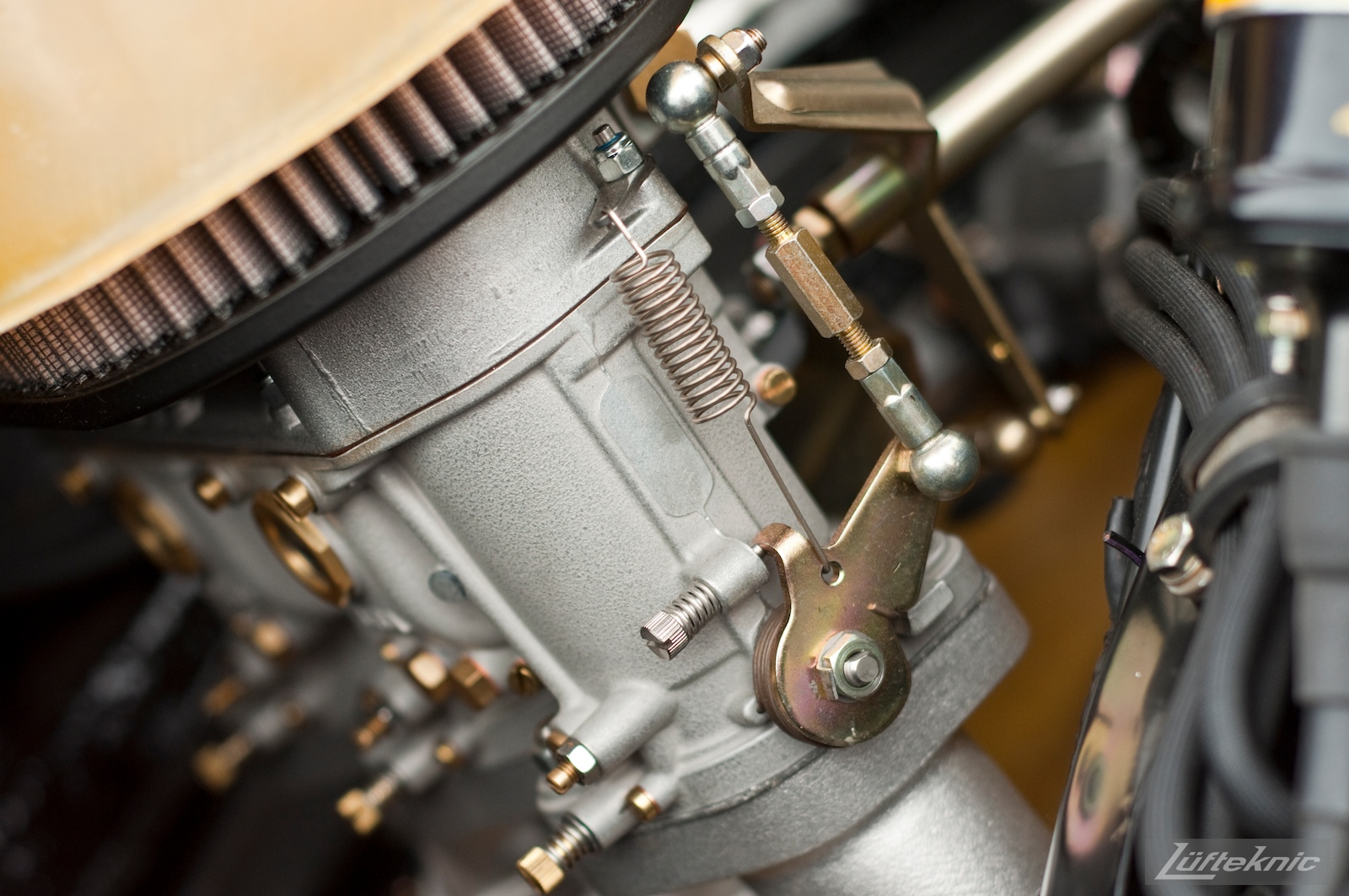 Carburetor linkage.