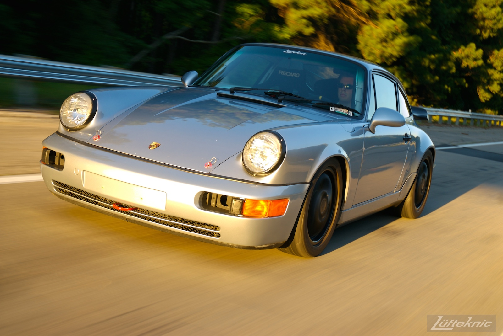 Track prepped Porsche 964 RS America.