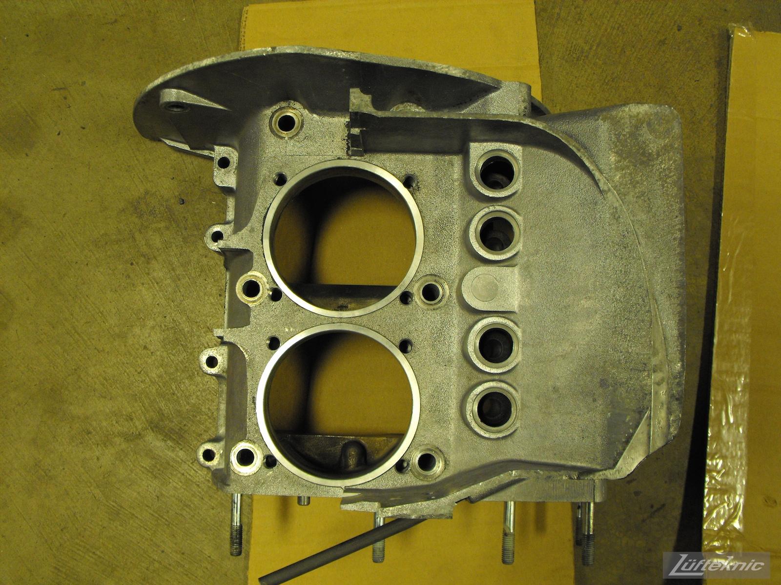 Engine case for a 1961 Porsche 356B Roadster restoration.