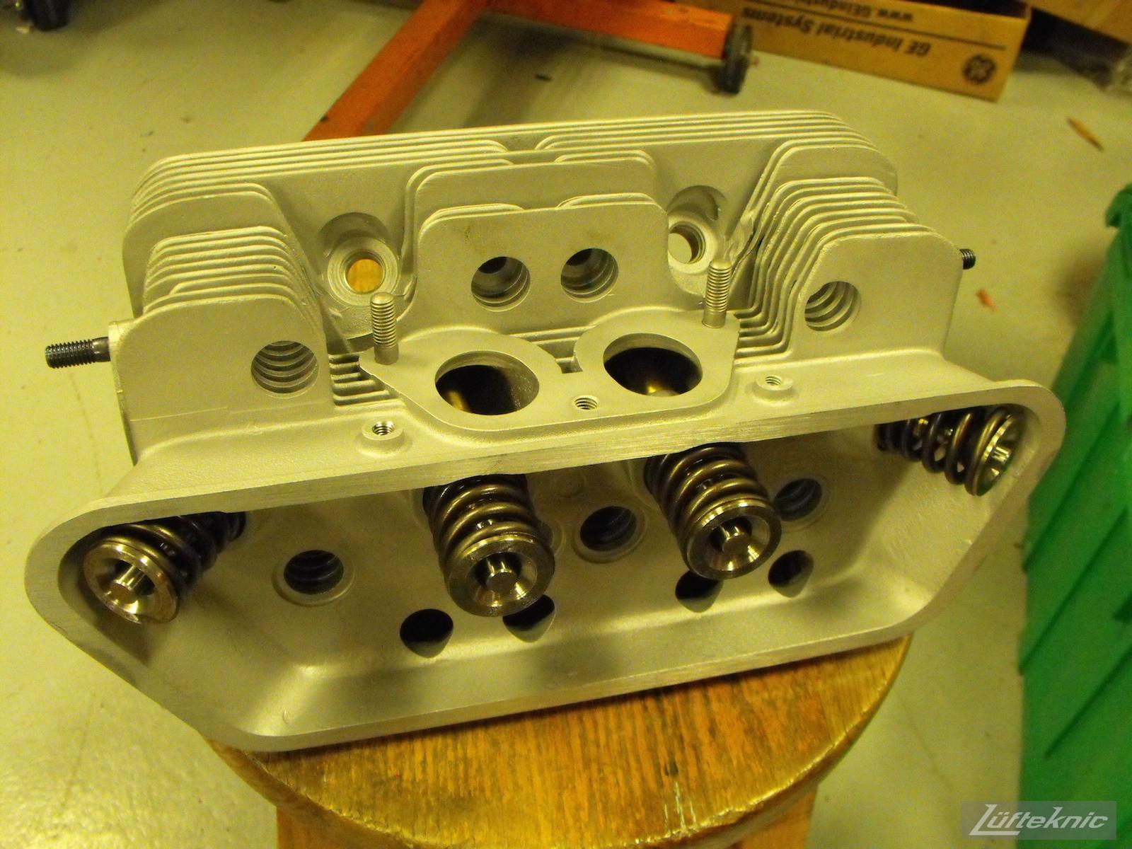 Refinished head for a 1961 Porsche 356B Roadster restoration.