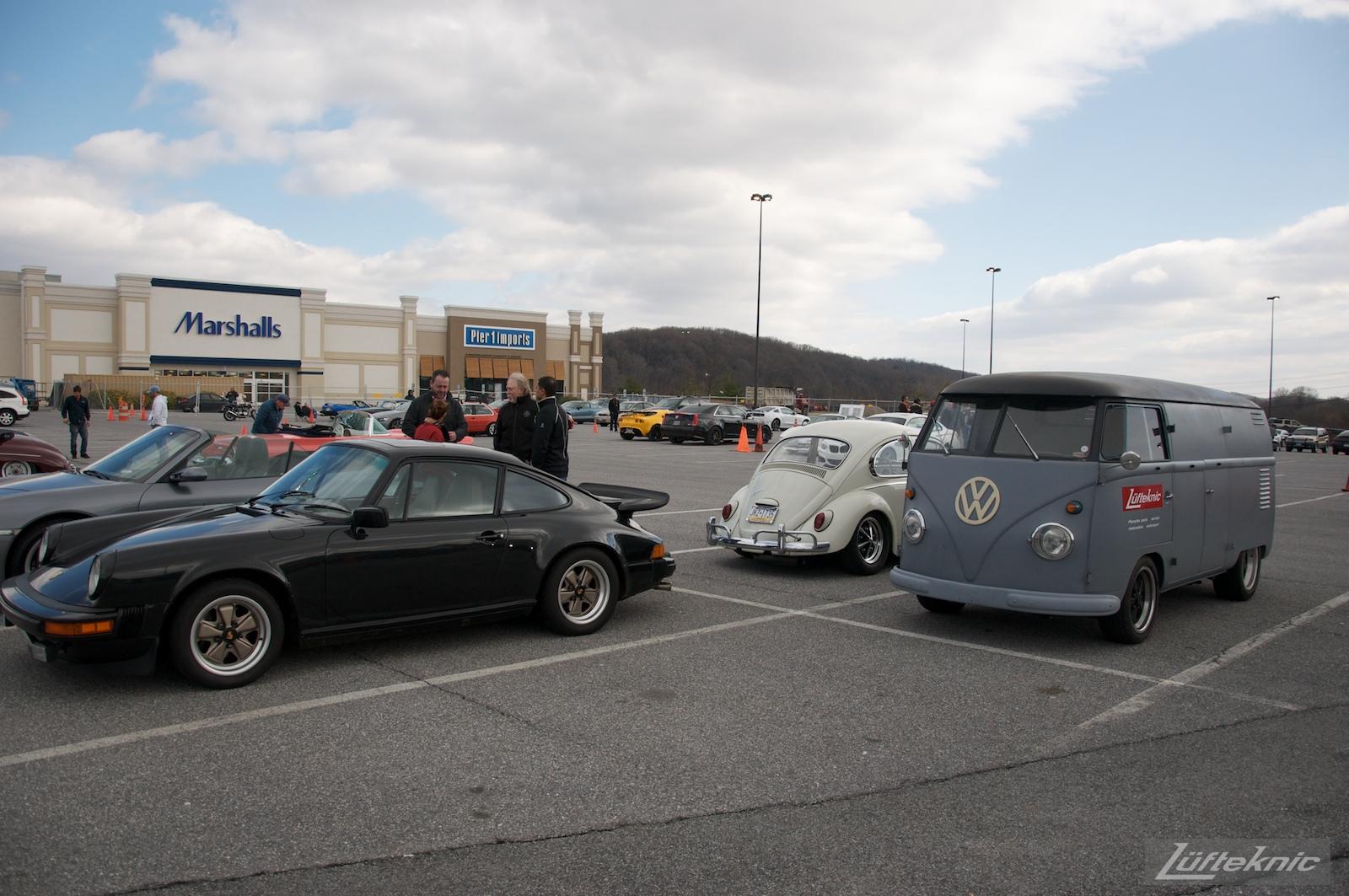 1956 Volkswagen double panel Transporter PorscheBus