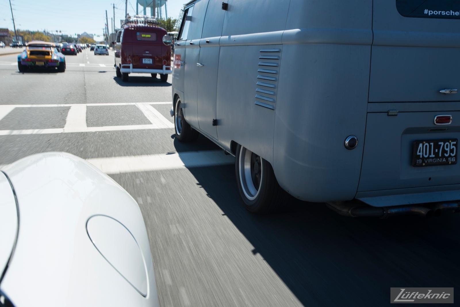 1956 Volkswagen double panel Transporter PorscheBus at h2o international.