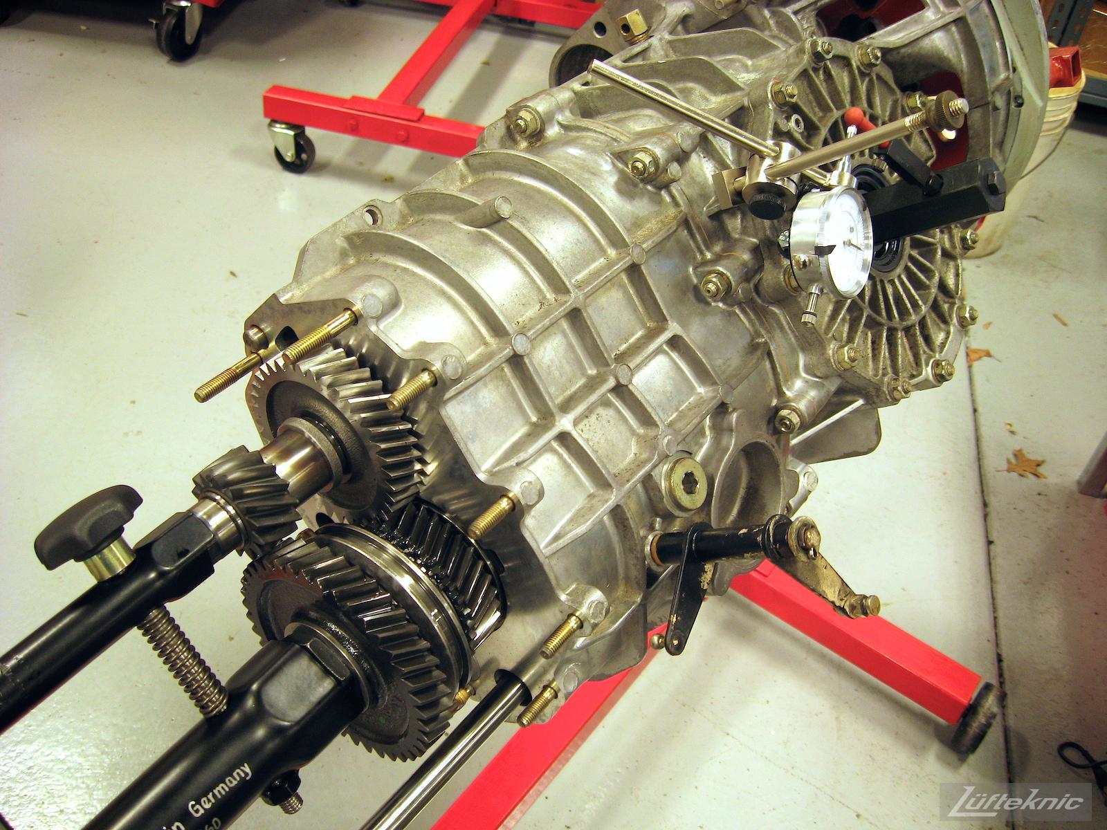 Porsche Turbo gearbox.