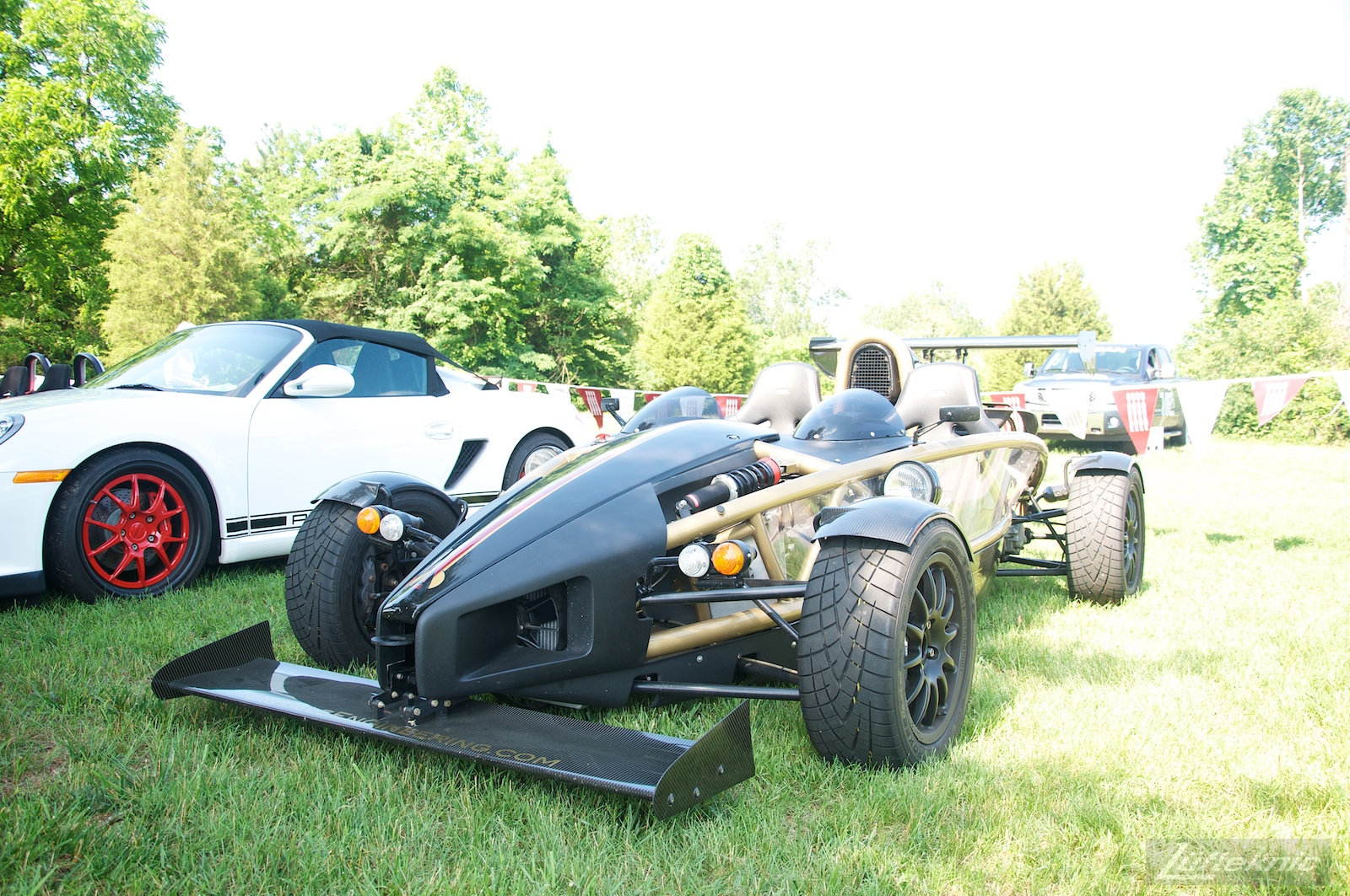 Ariel Atom at the Richmond Porsche Meet.
