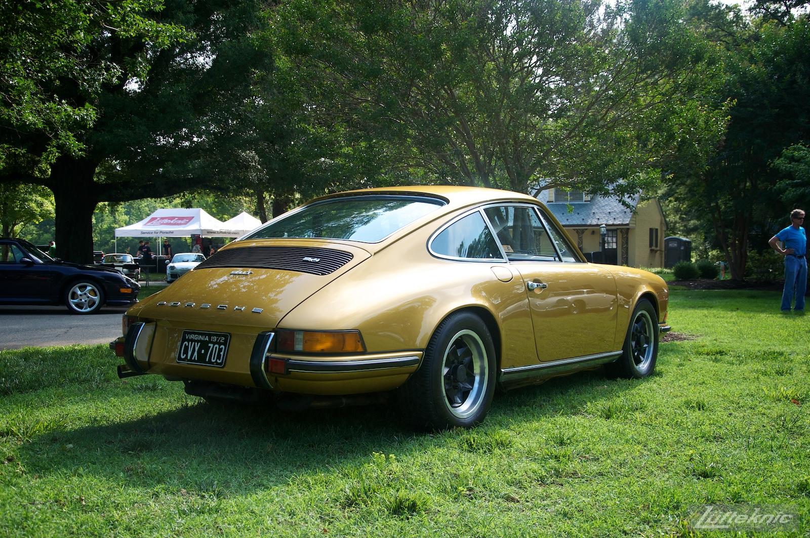 Richmond Porsche meet 2015 Gold 911.