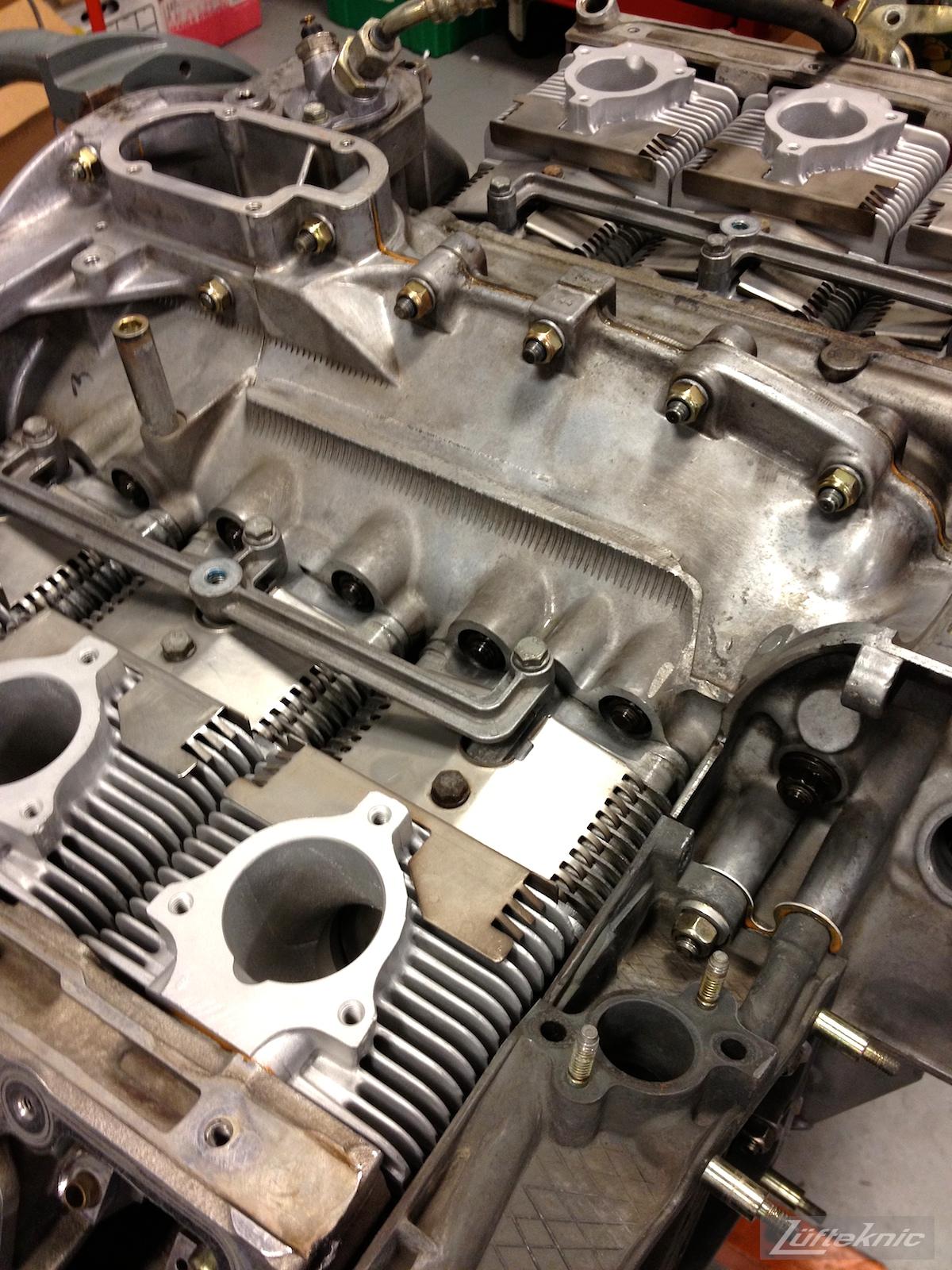 993 Porsche Turbo engine.