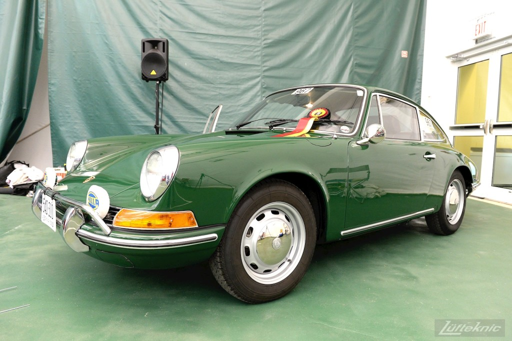 Deane's Lüfteknic restored 1969 Porsche 912 placed 3rd in the 1965-1973 911/912 Restoration category.