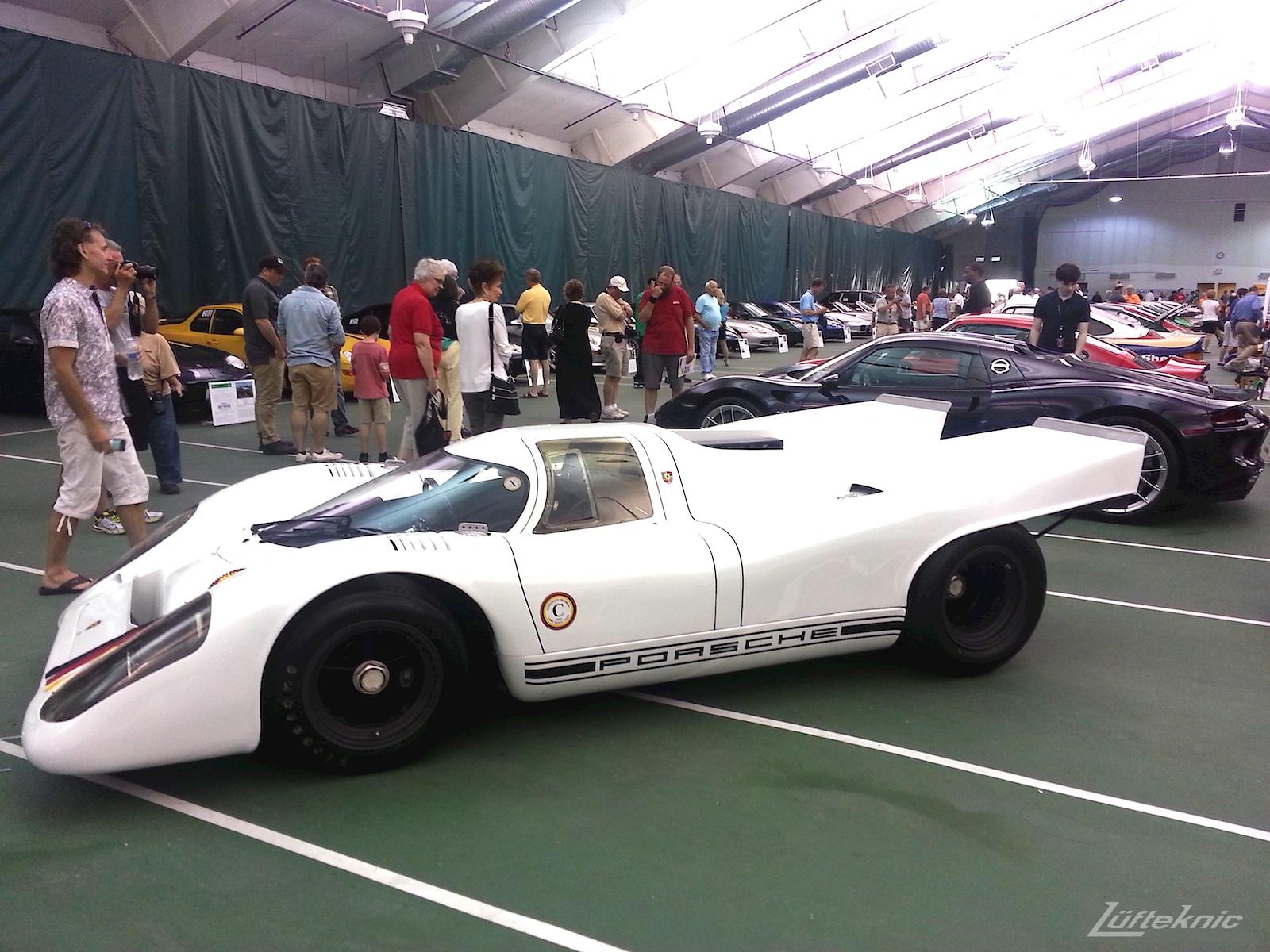 White Porsche 917K