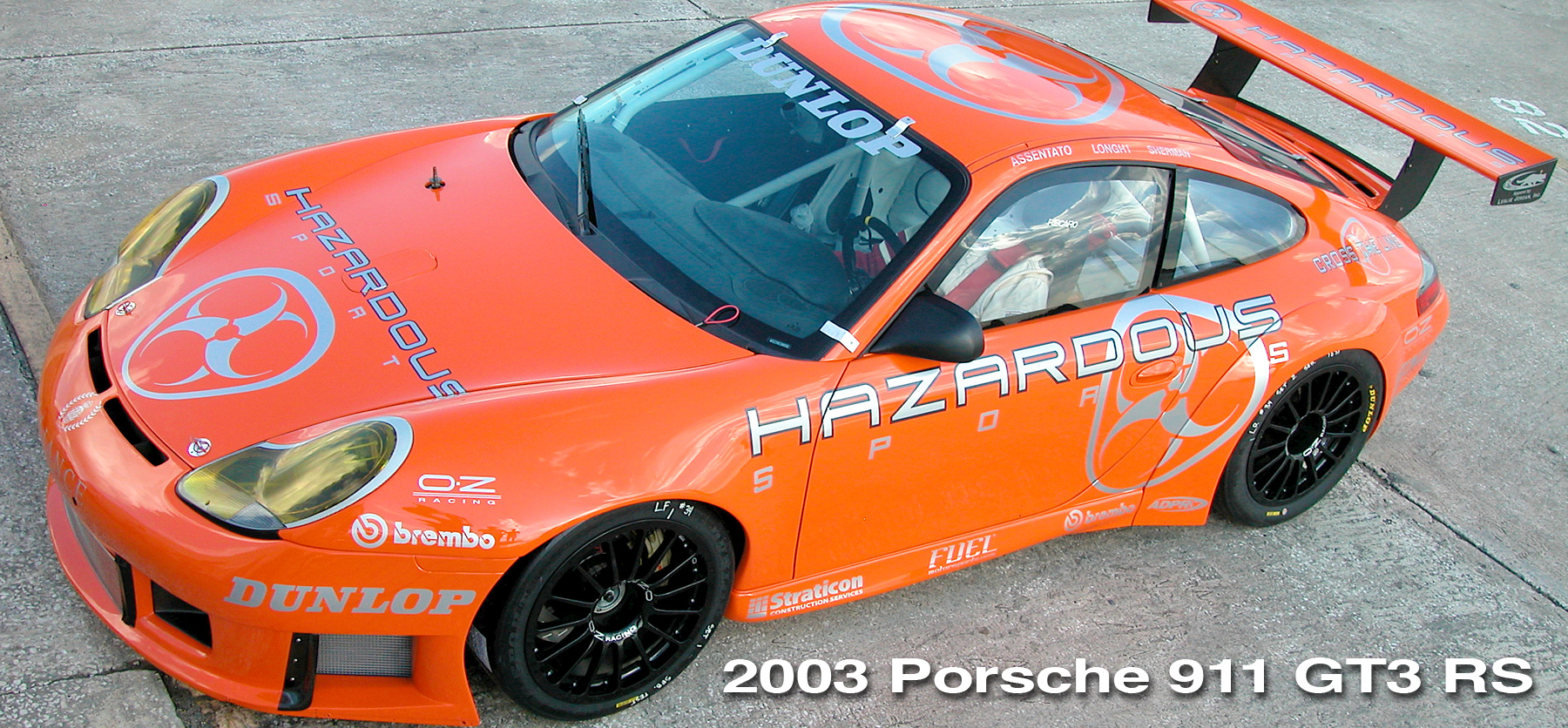996 GT3 RS header