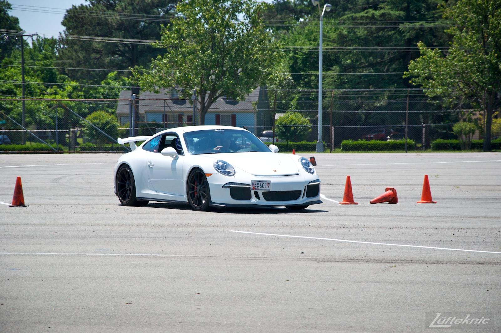 991 GT3 autocross