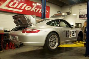 Synergy Racing modified Porsche 911 track car.
