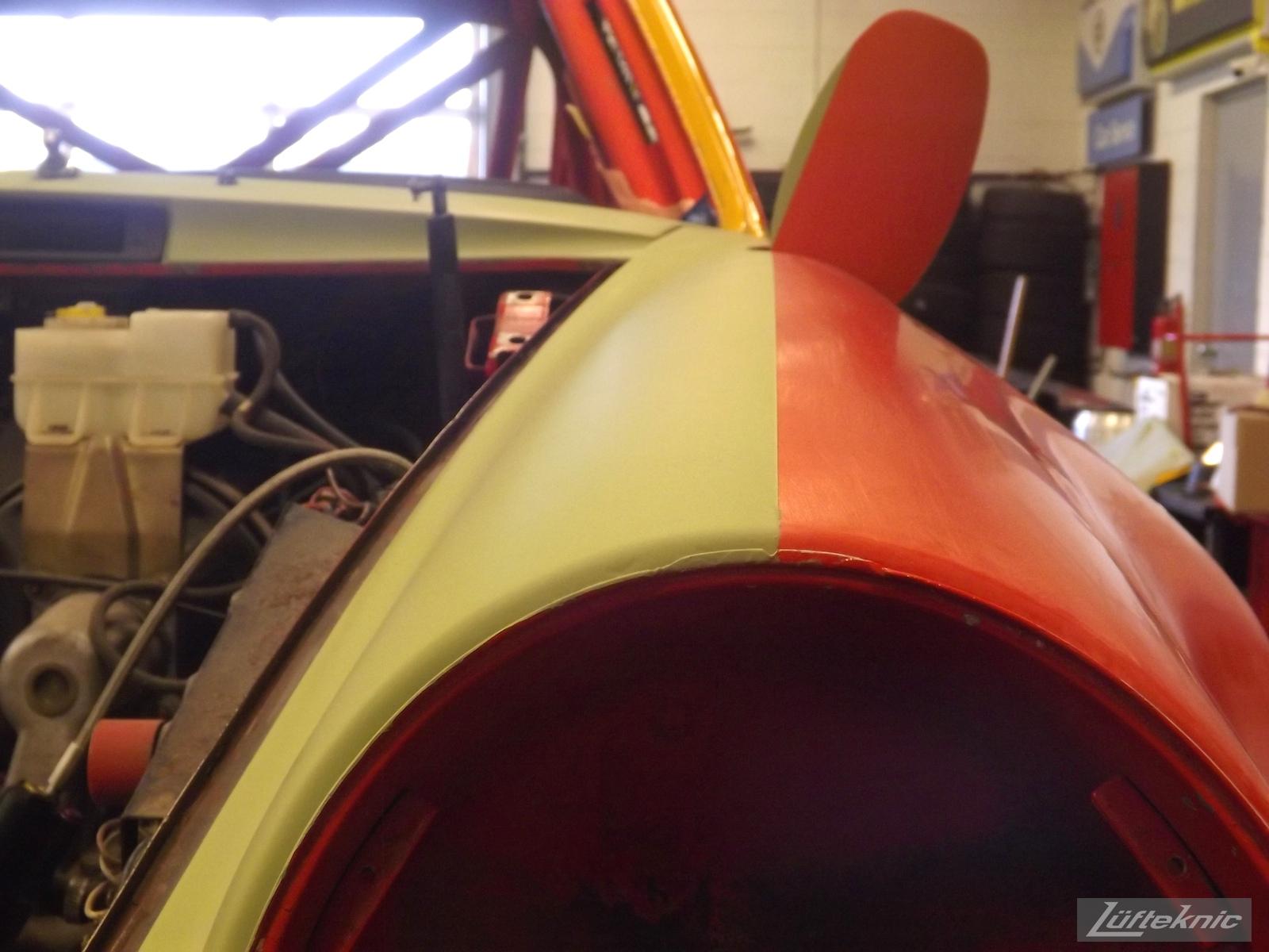 paint line on a fender of projectstuka