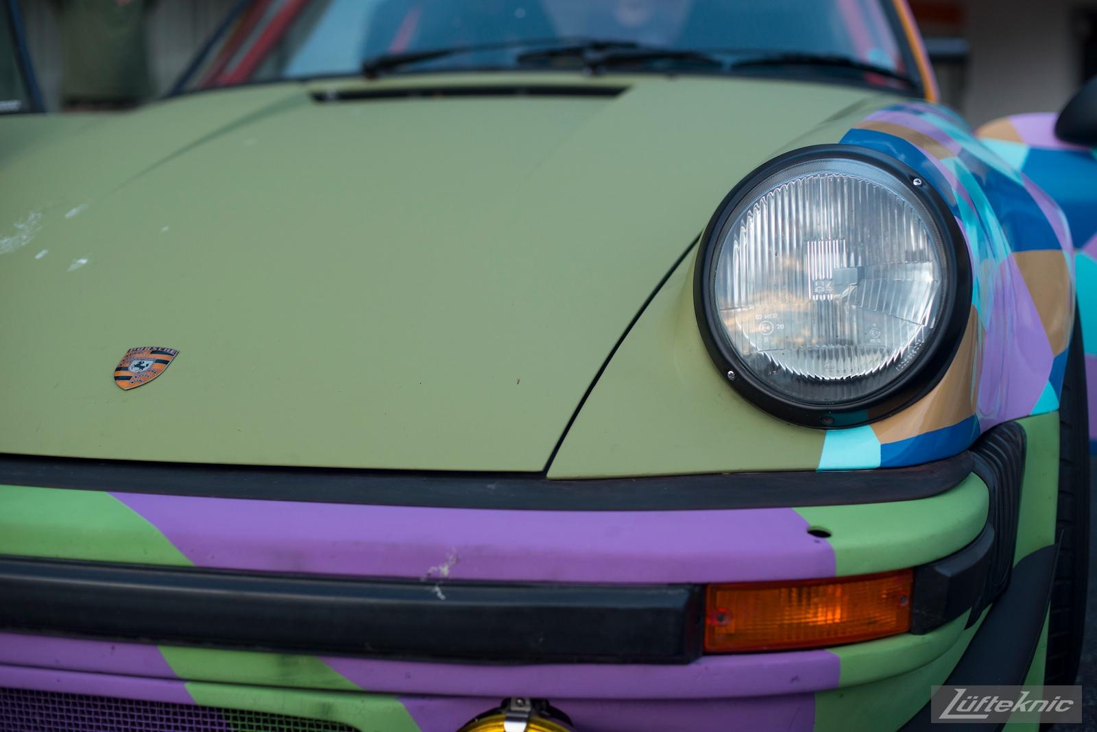 Lüfteknic #projectstuka Porsche 930 Turbo front end close up