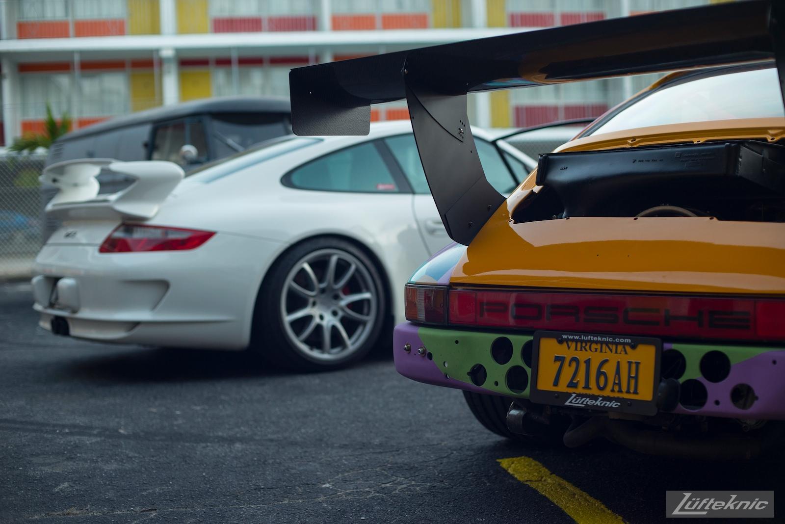 Lüfteknic #projectstuka Porsche 930 Turbo rear end with a gt3