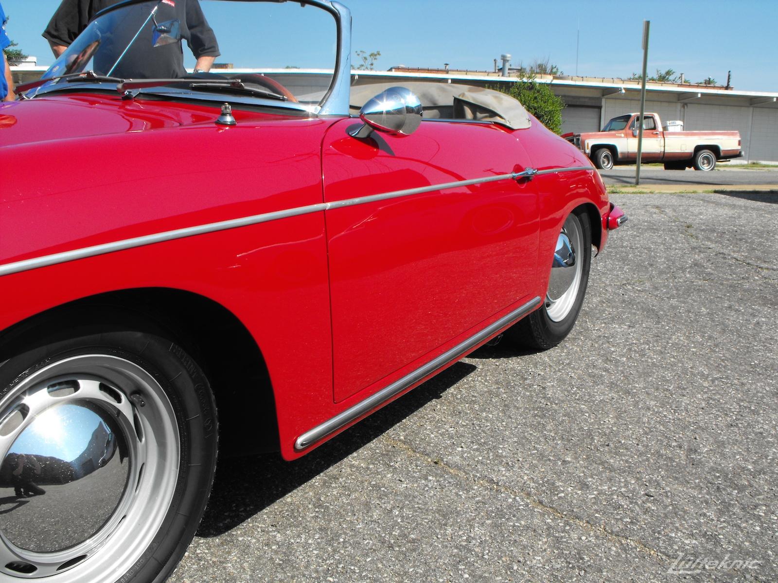 Restored 1961 Porsche 356B Roadster.
