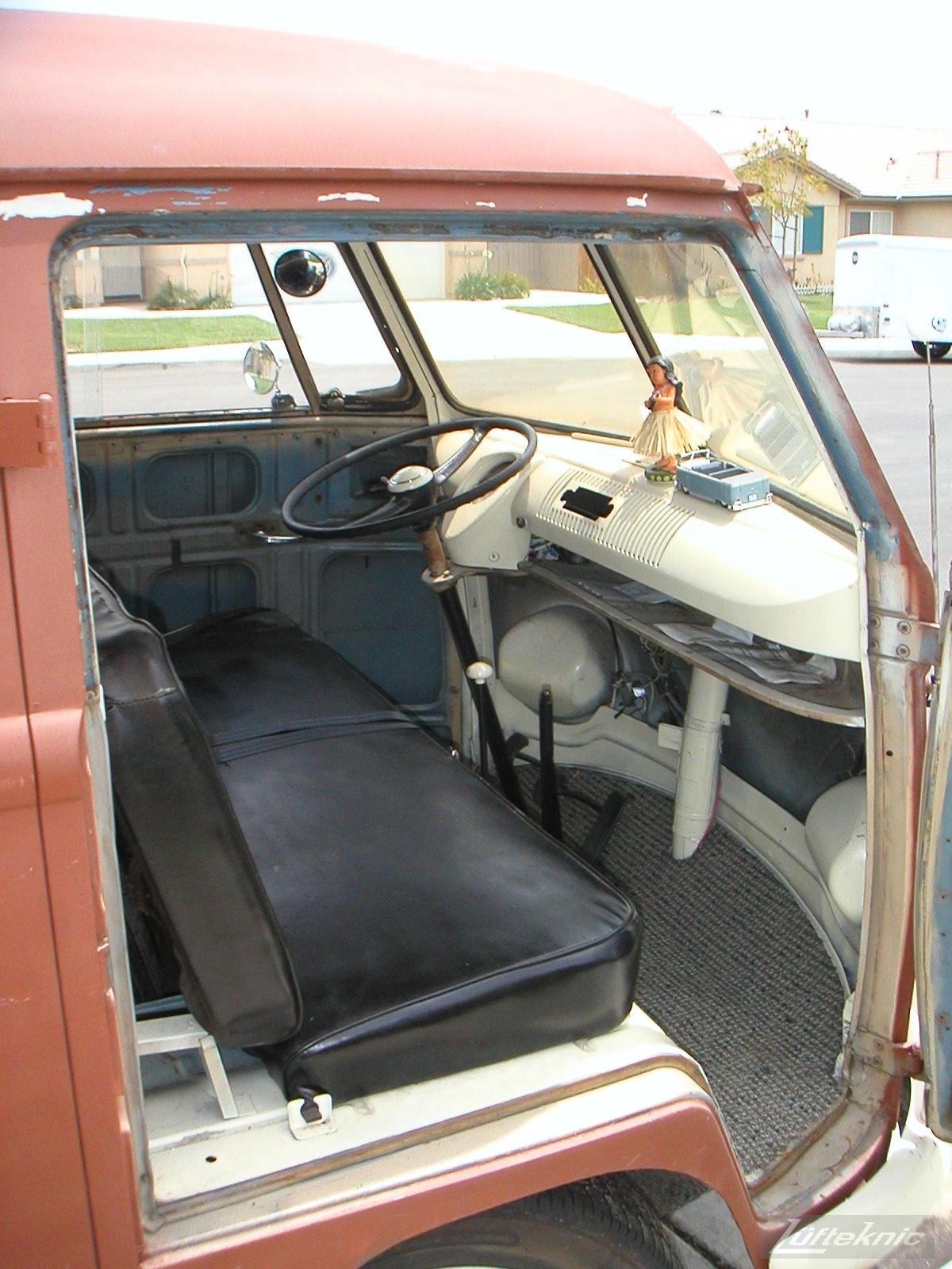 1956 Volkswagen double panel Transporter pre PorscheBus