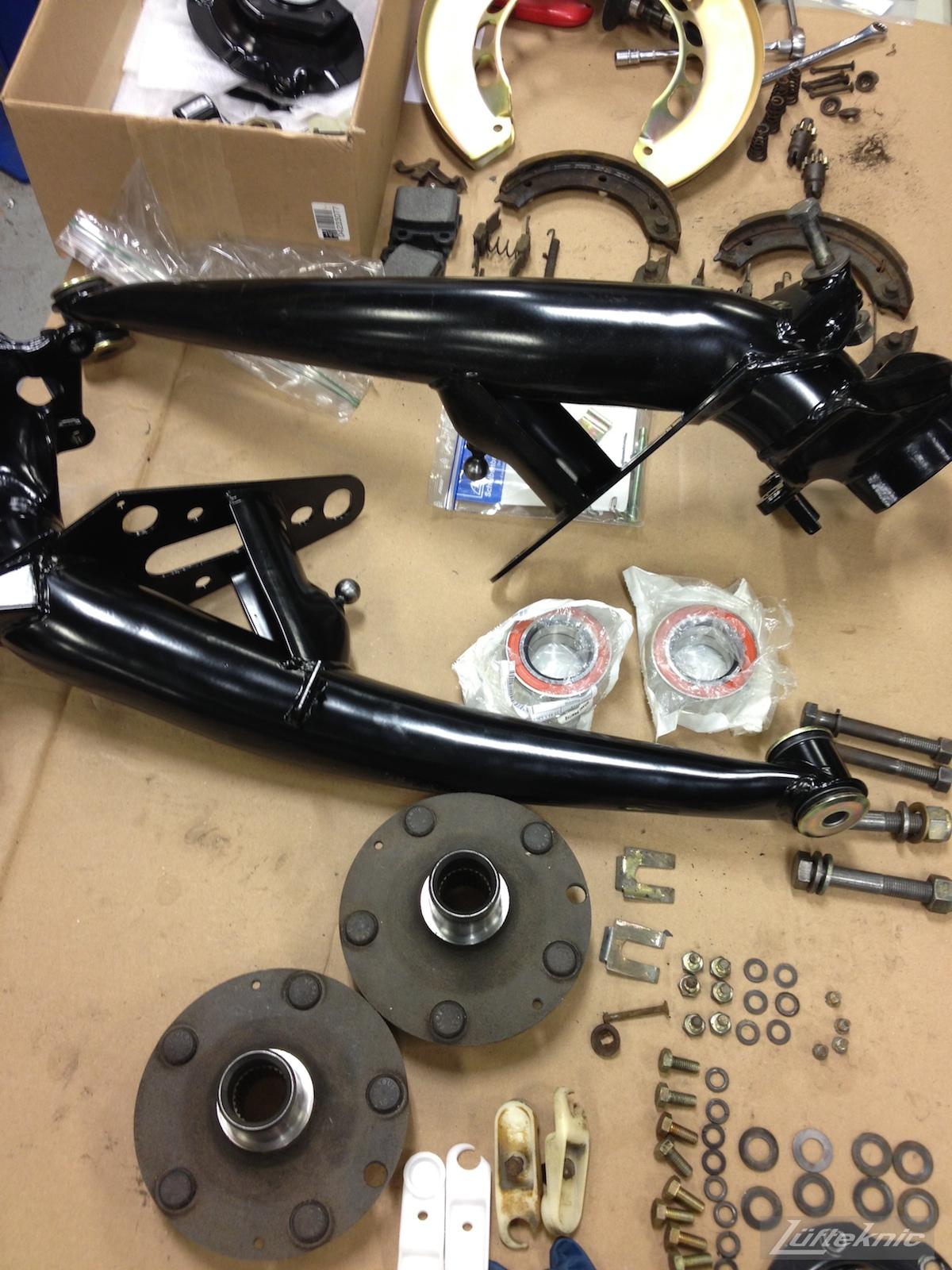 Recondtioned Porsche 912 suspension parts