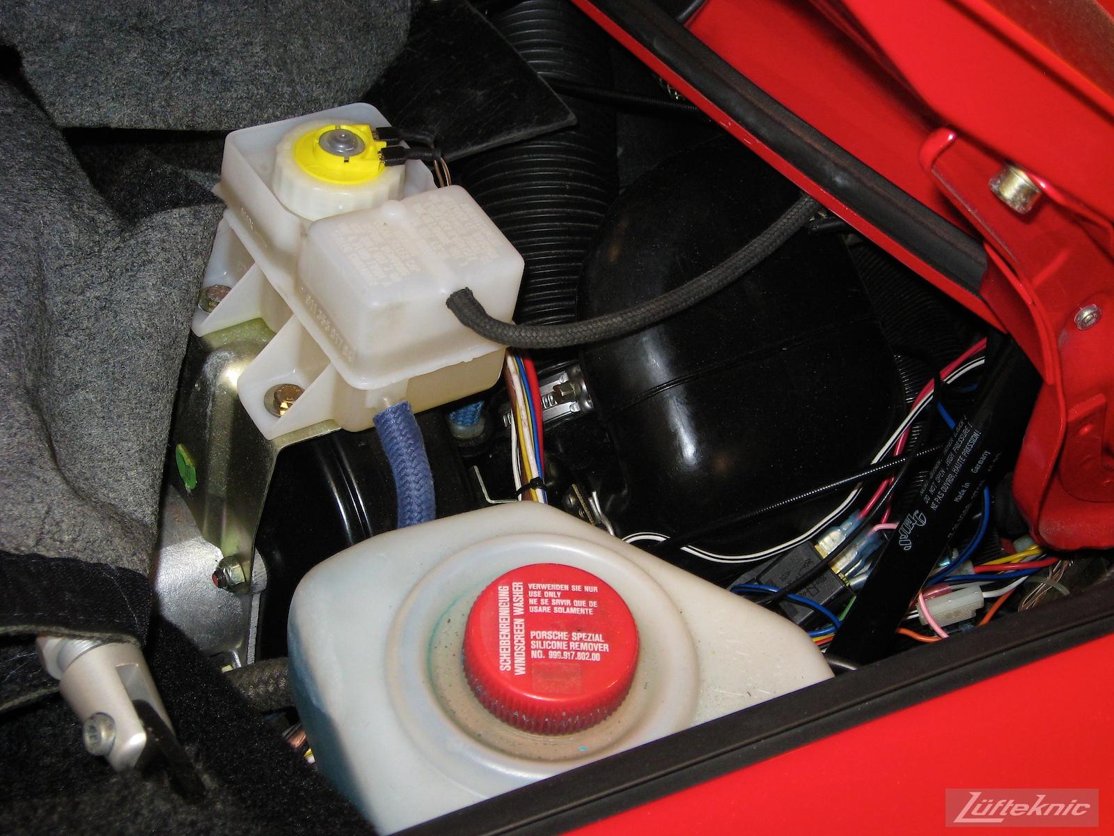 Porsche 930 Turbo 5 speed conversion.