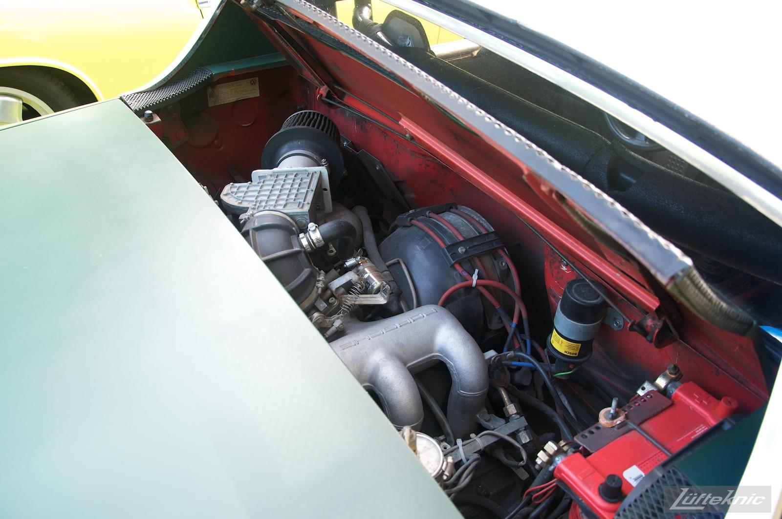 Track rat 914 at the Richmond Porsche Meet.