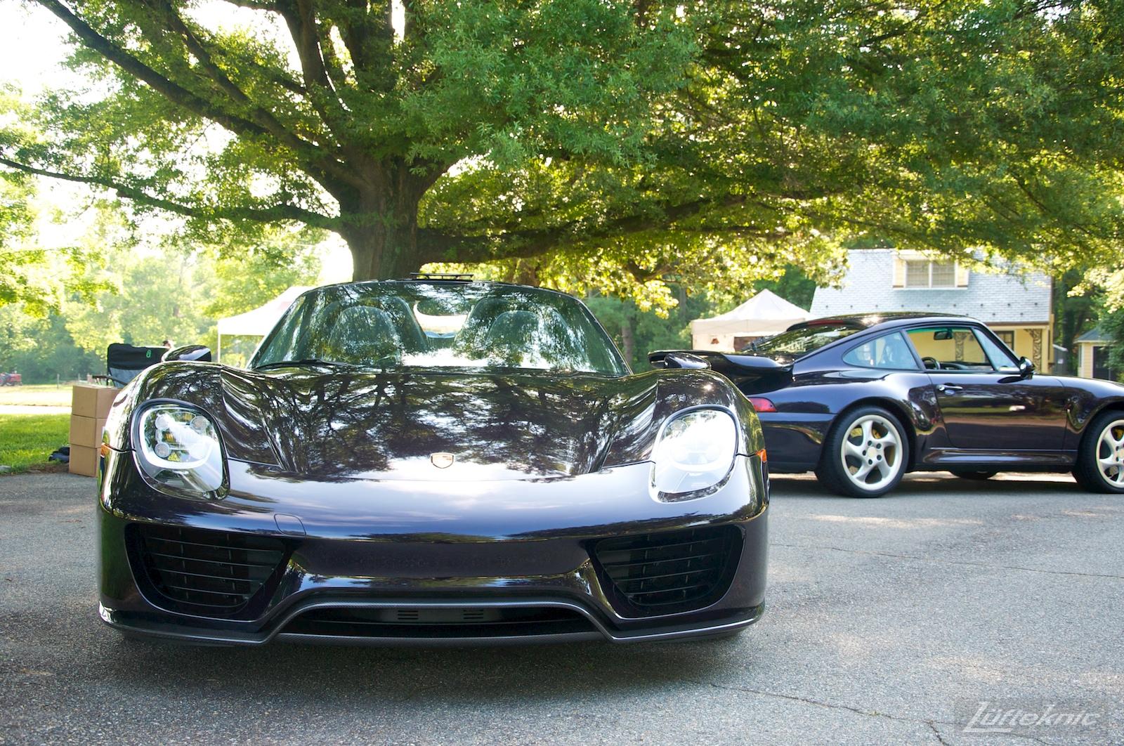 Richmond Porsche meet 2015 Viola Metallic 918.