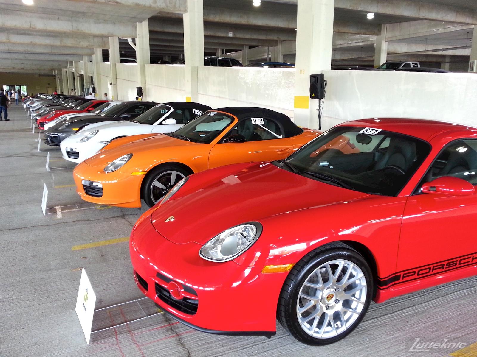 Clean Porsches.