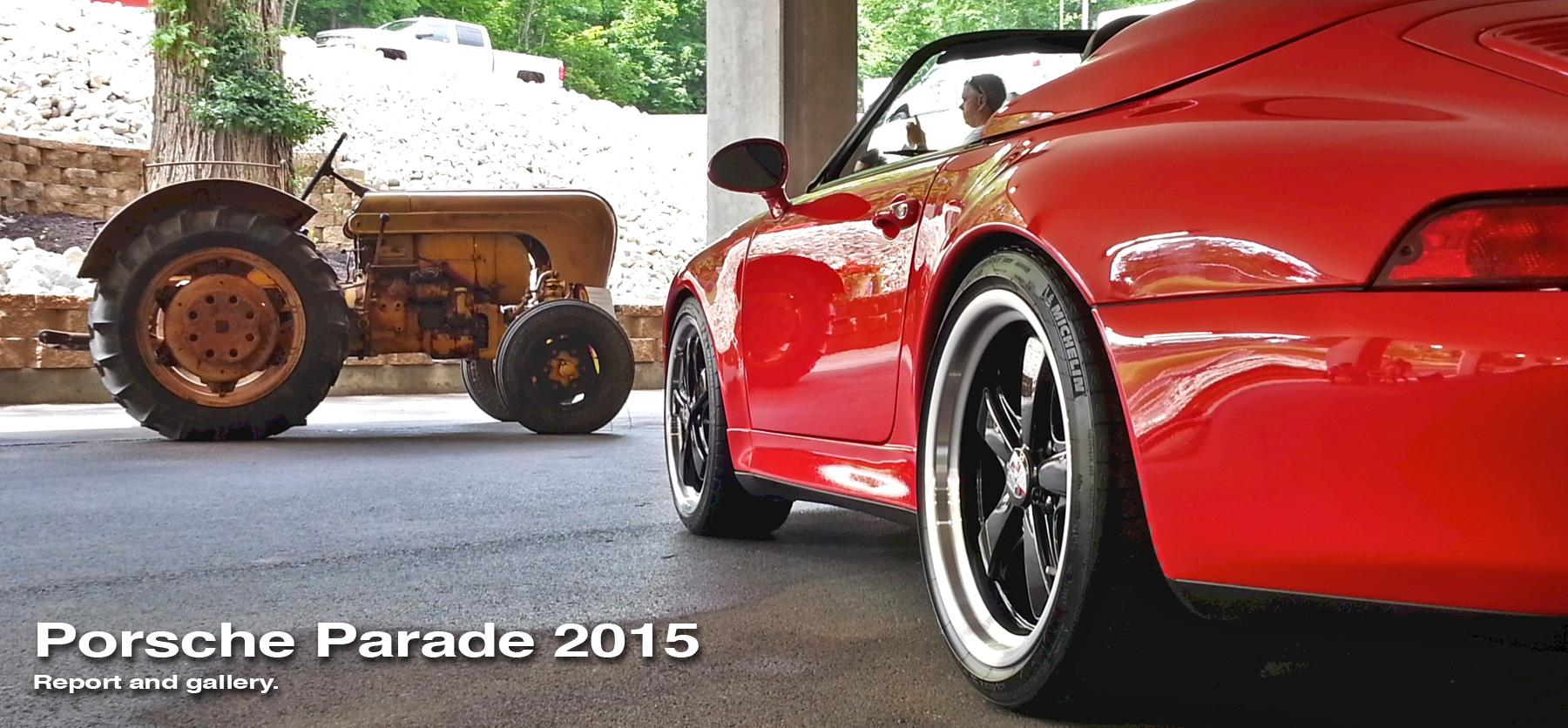 Porsche Parade header