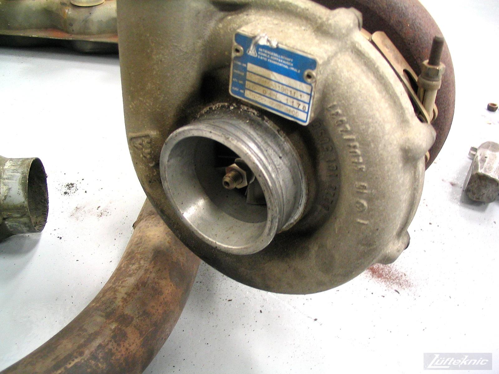 Stock 930 turbocharger
