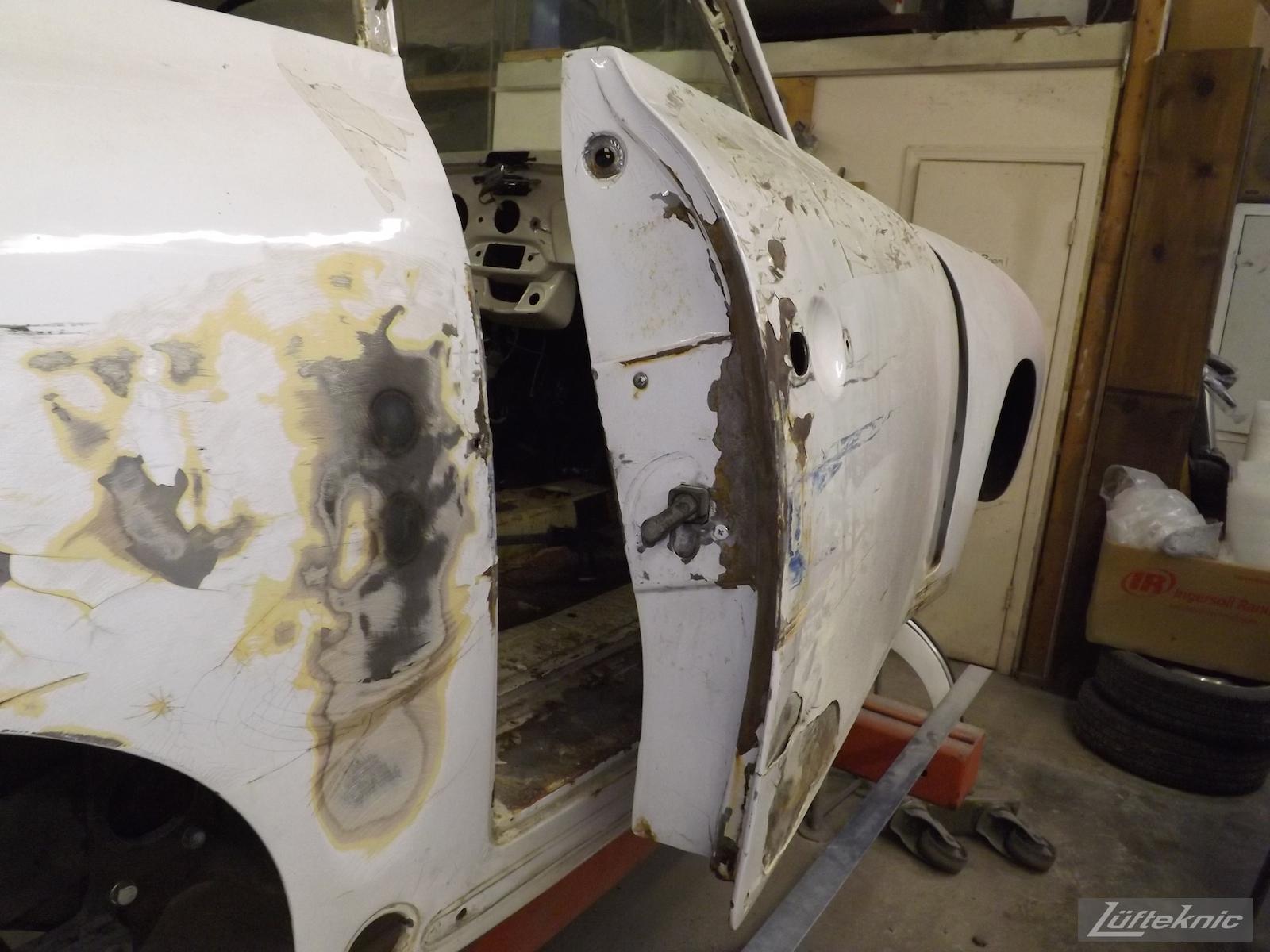 1964 Porsche 356SC restoration.