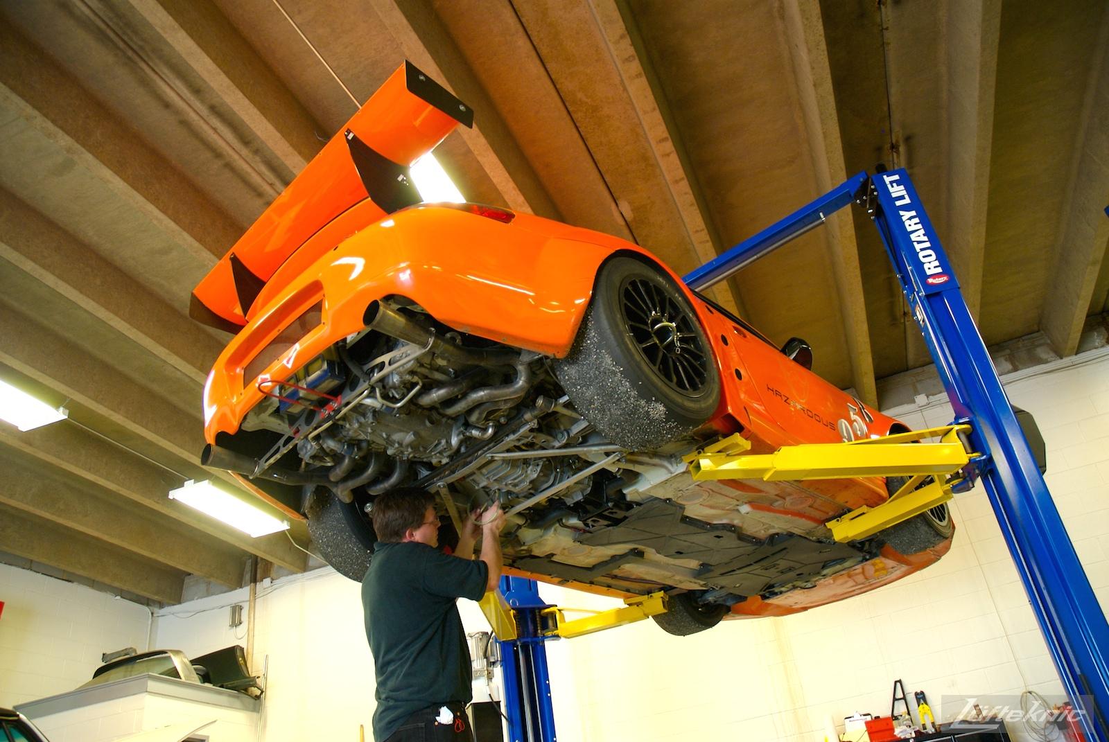 ZIP Racing Hazardous Sports Porsche 996 GT3 RS